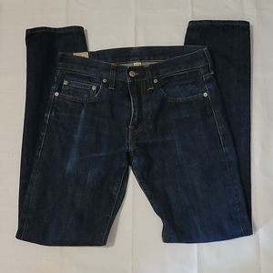 J Crew dark wash style 484 slim fit jeans